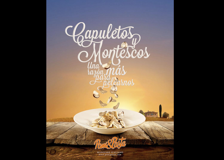 Fotografía publicitaria de producto pasta Madrid