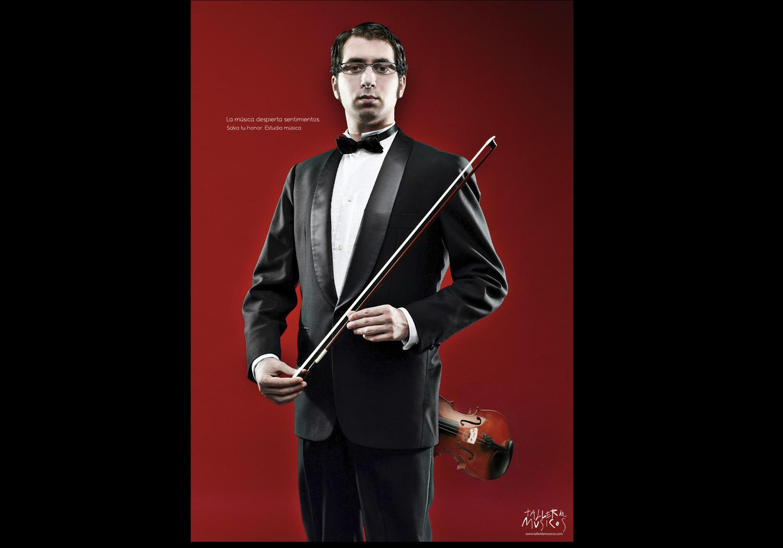 Retrato publicitario músicos Madrid