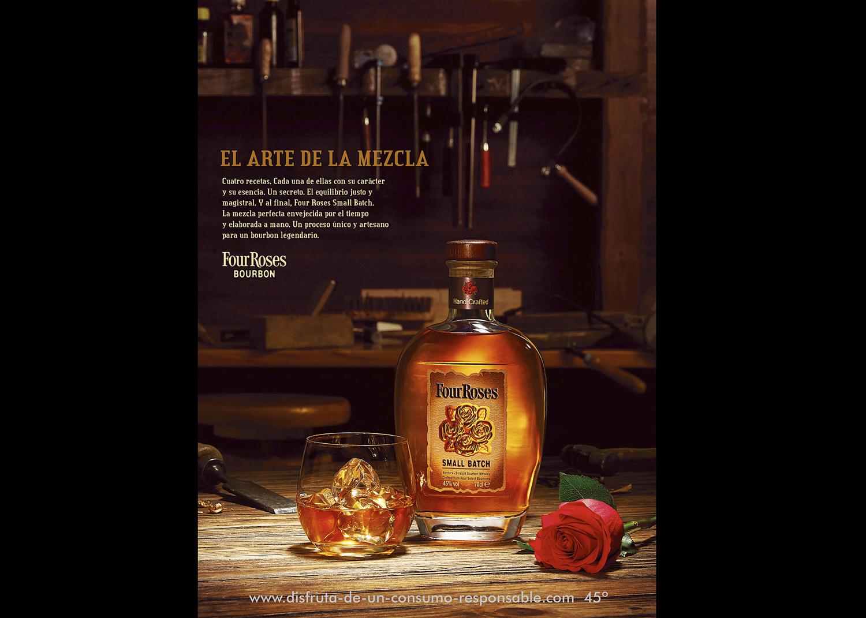 Bourbon - Fotografía publicitaria de producto
