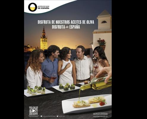 Fotografia publicitaria de producto de aceites en Madrid